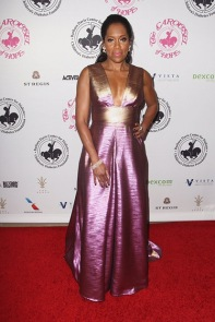 Regina King attends The Carousel of Hope Ball, in Beverly Hills, California, on October 8, 2016. / AFP / TOMMASO BODDI (Photo credit should read TOMMASO BODDI/AFP/Getty Images)