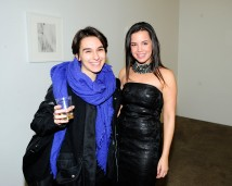 "Angela Brown, Courtney Daniels== Kristin Prim ""Close To You"" Debut New York City Exhibition == 516 West 20th Street, NYC== November 21, 2016== ©Patrick McMullan== Photo - Paul Bruinooge/PMC== =="