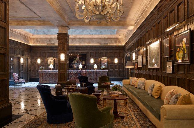 The Beekman - Lobby - Photo Bjorn Wallender